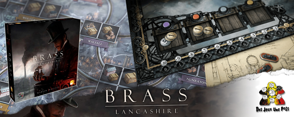 Bras Lancshire, un jeu de Martin Wallace